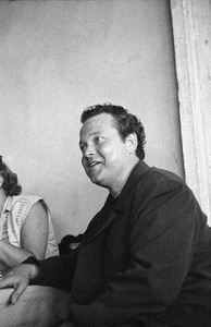 Orson Welles at the Venice Film Festival in Italy 1951 © 1978 Ruth Orkin - Image 24388_0084