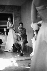 Charles James in New York studio with models1949© 1978 Ruth Orkin - Image 24388_0803
