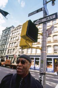 Rashied Ali in New York City2000© 2000 Lou Jones - Image 24389_0044