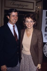 Valerie Harper with Tom Hayden1982© 1982 Gary Lewis - Image 2451_0137