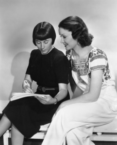 Edith Head and Gail Patrick1938 - Image 2466_0024