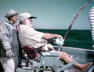 Ernest HemingwayFishingCirca 1959 © 1978 David Sutton - Image 2473_0002