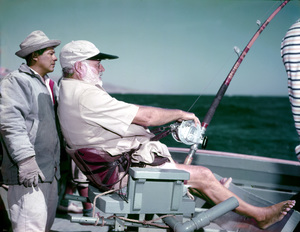 Ernest HemingwayFishingCirca 1959 © 1978 David Sutton - Image 2473_0002