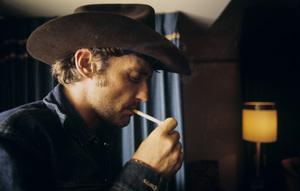 Dennis Hopper in Hollywood, CA 1969 © 1978 Bruce McBroom - Image 2495_0116