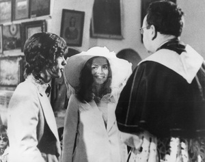 Mick Jagger with his bride Bianca Jagger during their Roman Catholic ceremony at a chapel in St. Tropez FranceMay 12, 1971 - Image 2518_0006