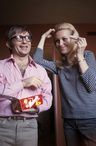 Arte Johnson with his wife Giselacirca 1965 © 1978 Gunther - Image 2527_0015