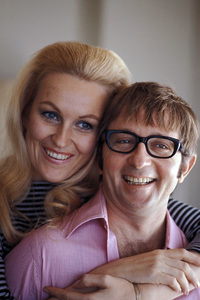 Arte Johnson with his wife Giselacirca 1965 © 1978 Gunther - Image 2527_0016