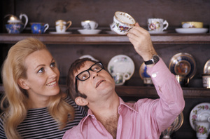 Arte Johnson with his wife Giselacirca 1965 © 1978 Gunther - Image 2527_0018