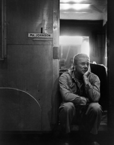 """Van Johnson on the set of """"The Caine Mutiny""""1954 Columbia Pictures © 1978 Bob Willoughby - Image 2528_0101"""