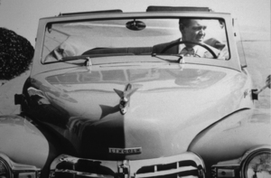 Clark Gable in his 1946 Lincoln Continental*M.W.* - Image 25_2197