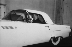 Clark Gable in his 1956 Ford Thunderbird*M.W.* - Image 25_2199