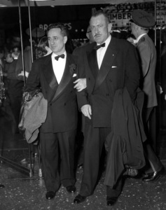 "Elia Kazan and Author, John Steinbeck, atthe Premiere of ""East of Eden""1955 - Image 2544_0102"