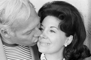 George Kennedy and his wife, Revel1969© 1978 Gene Trindl - Image 2553_0018