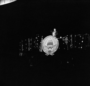 John F. Kennedy at the presidential inauguration1961 © 2000 Mark Shaw - Image 2554_0036