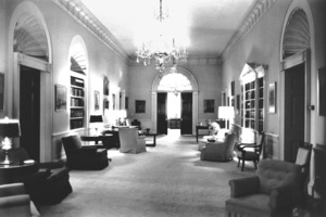 The White House during the John F. Kennedy Presidency1961 © 2000 Mark Shaw - Image 2554_0109