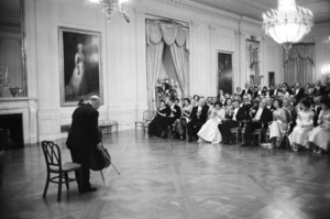 Pablo Casals Performing at White House for John F. Kennedy1964 © 1978 Mark Shaw - Image 2554_0134