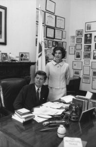 John F. Kennedy and Jacqueline KennedyAt Washington D.C.1959 © 2000 Mark Shaw - Image 2554_0140