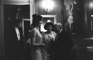 John F. Kennedy with wife Jacqueline Kennedy at the White House following a performance by Pablo Casals / 1964 © 2000 Mark Shaw - Image 2554_0143