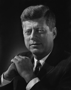 John F. Kennedy at the Ambassador Hotel in Los Angeles1960 © 1978 Dave Iwerks - Image 2554_0173a