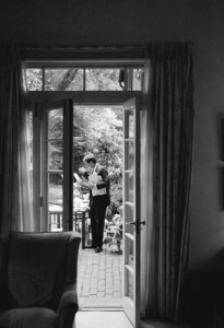 John F. Kennedy at his Georgetown home1959© 2012 Mark Shaw - Image 2554_0190