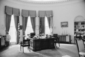 The Oval Office in the White House while John F. Kennedy was President1963© 2012 Mark Shaw - Image 2554_0198