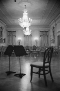 The White House on the night Pablo Casals was to perform there1961© 2012 Mark Shaw - Image 2554_0199