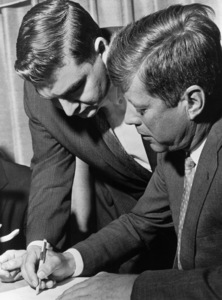 John F. Kennedy and Pierre Salingercirca 1960s** I.V.M. - Image 2554_0206