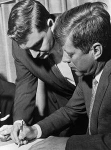 John F. Kennedy and Pierre Salingercirca 1960s** I.V.M. - Image 2554_0206