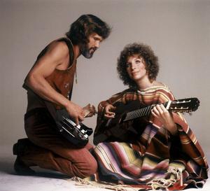 "Kris Kristofferson and Barbra Streisand in ""A Star Is Born""1976 Warner Bros.** B.D.M. - Image 2571_0007"