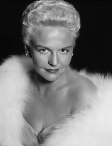 "Peggy Leepublicity portrait fo ""Pete Kelly"