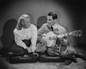 Peggy Lee and Dave Barbour circa 1943** I.V. / M.T. - Image 2586_0282