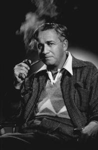 Mervyn Leroy smoking a pipe, 1955. © 1978 Eric SkipseyMPTV - Image 2596_1