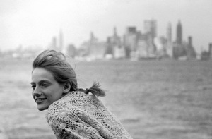 Sondra Locke on The Staten Island Ferry1967© 1978 Bob Willoughby - Image 2605_0012