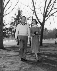 Frank Lovejoy and Joan Weldon1953 Photo by Lloyd MacLean - Image 2619_0002