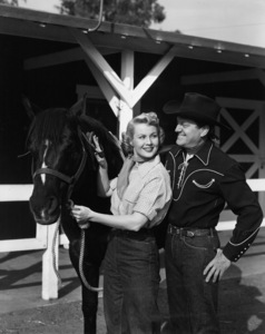 Virginia Mayo and husband Michael O