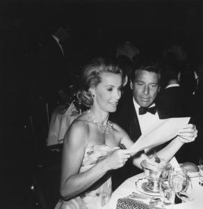 Dina Merrill with Efrem Zimbalist Jr.circa 1965Photo by Joe Shere - Image 2692_0008
