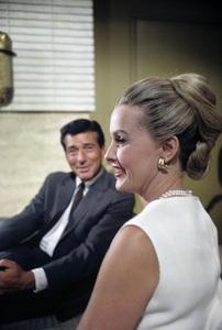 Efrem Zimbalist Jr. and Dina MerrillJuly 1965© 1978 Gene Trindl - Image 2692_0014