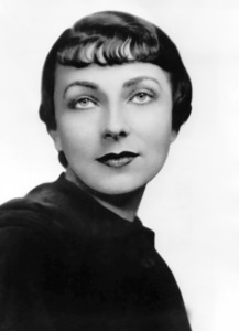 Agnes Moorehead, NBC Photo, circa 1947, **I.V. - Image 2715_0011