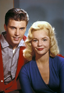 Ricky Nelson and Tuesday Weld1960 © 1978 Ted Allan - Image 2743_0031
