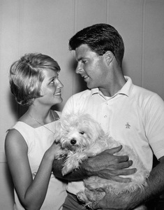 Ricky Nelson and Kristin Harmoncirca 1963Photo by Joe Shere - Image 2743_0064