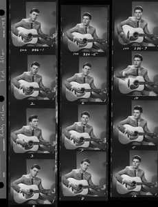 Ricky Nelson (Proof Sheet)circa 1959 © 1978 Ted Allan - Image 2743_0065