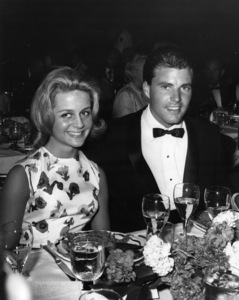 Ricky Nelson and Kristin Harmon Nelson at the Cocoanut Grovecirca 1960sPhoto by Joe Shere - Image 2743_0084