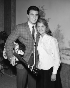 Ricky Nelson and Kristin Harmon Nelsoncirca 1960sPhoto by Joe Shere - Image 2743_0085