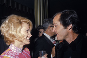 Jack Nicholson with Angie Dickinsoncirca 1974 © 1978 Gunther - Image 2754_0020