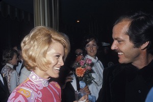 Jack Nicholson with Angie Dickinsoncirca 1974 © 1978 Gunther - Image 2754_0021