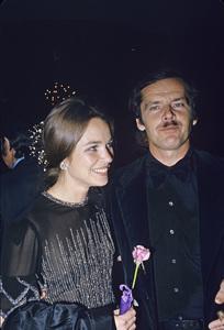 Jack Nicholson with Michelle Phillipscirca 1974 © 1978 Gunther - Image 2754_0026