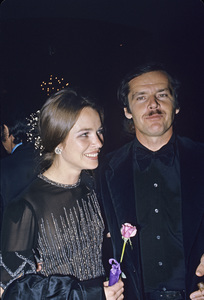 Jack Nicholson with Michelle Phillipscirca 1974 © 1978 Gunther - Image 2754_0026