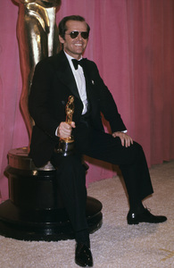 "Jack Nicholson at ""The 48th Annual Academy Awards""1976© 1978 Gary Lewis - Image 2754_0028"