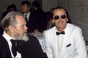 Jack Nicholson with Orson Wellescirca 1970s© 1978 Jean Cummings - Image 2754_0086