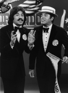 "Tony Orlando and Jerry Lewis on ""Tony Orlando and Dawn""1974Photo by Gabi Rona - Image 2789_0004"